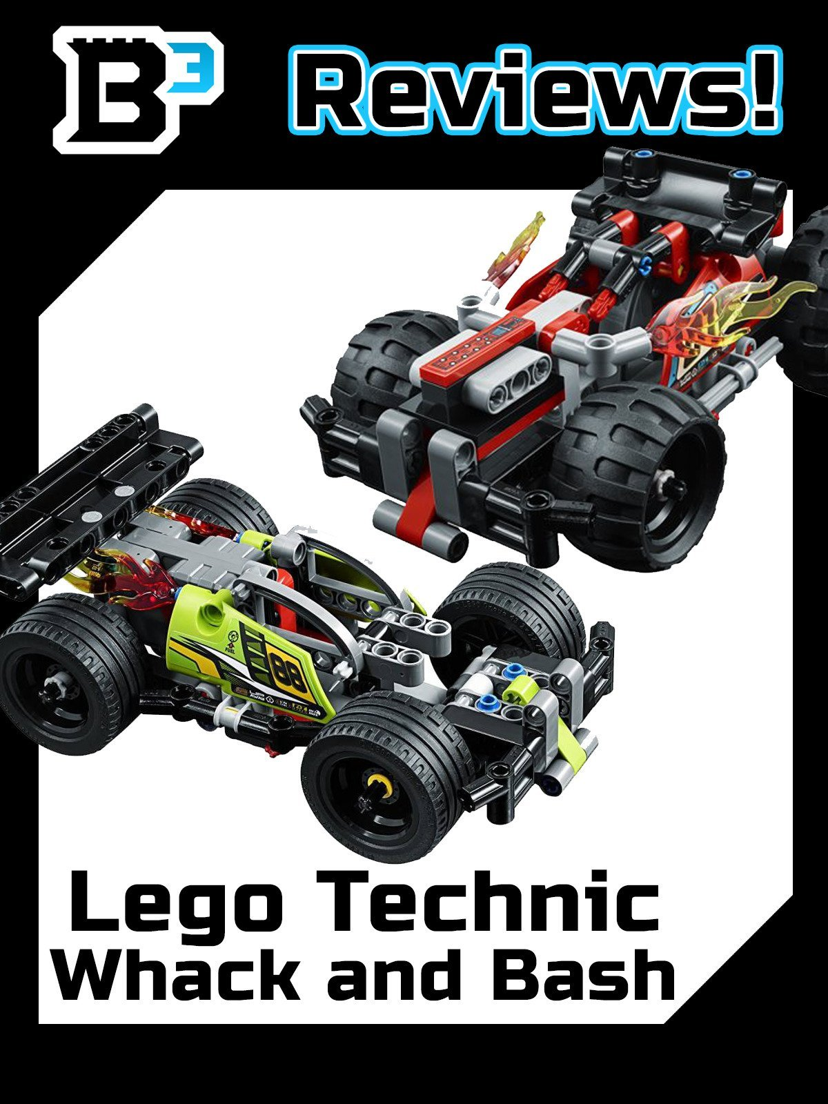 B3 Reviews! Lego Technic Whack and Bash