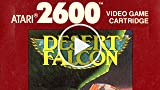 Classic Game Room - DESERT FALCON Review for Atari...