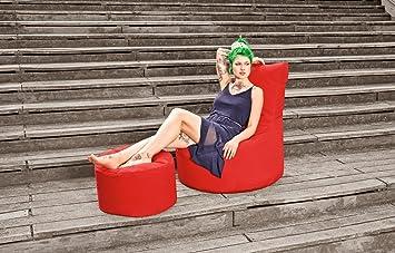 sitzsack set scuba swing hocker rot outdoor dc654. Black Bedroom Furniture Sets. Home Design Ideas