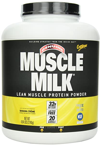 CytoSport Muscle Milk Banana , 1er Pack (1 x 2.24 kg)
