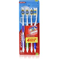 3-Pack Colgate Extra Clean Full Head, Medium Toothbrush, 4-Count