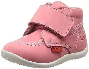 Kickers Bilou, Chaussures premiers pas bébé fille   Commentaires en ligne plus informations