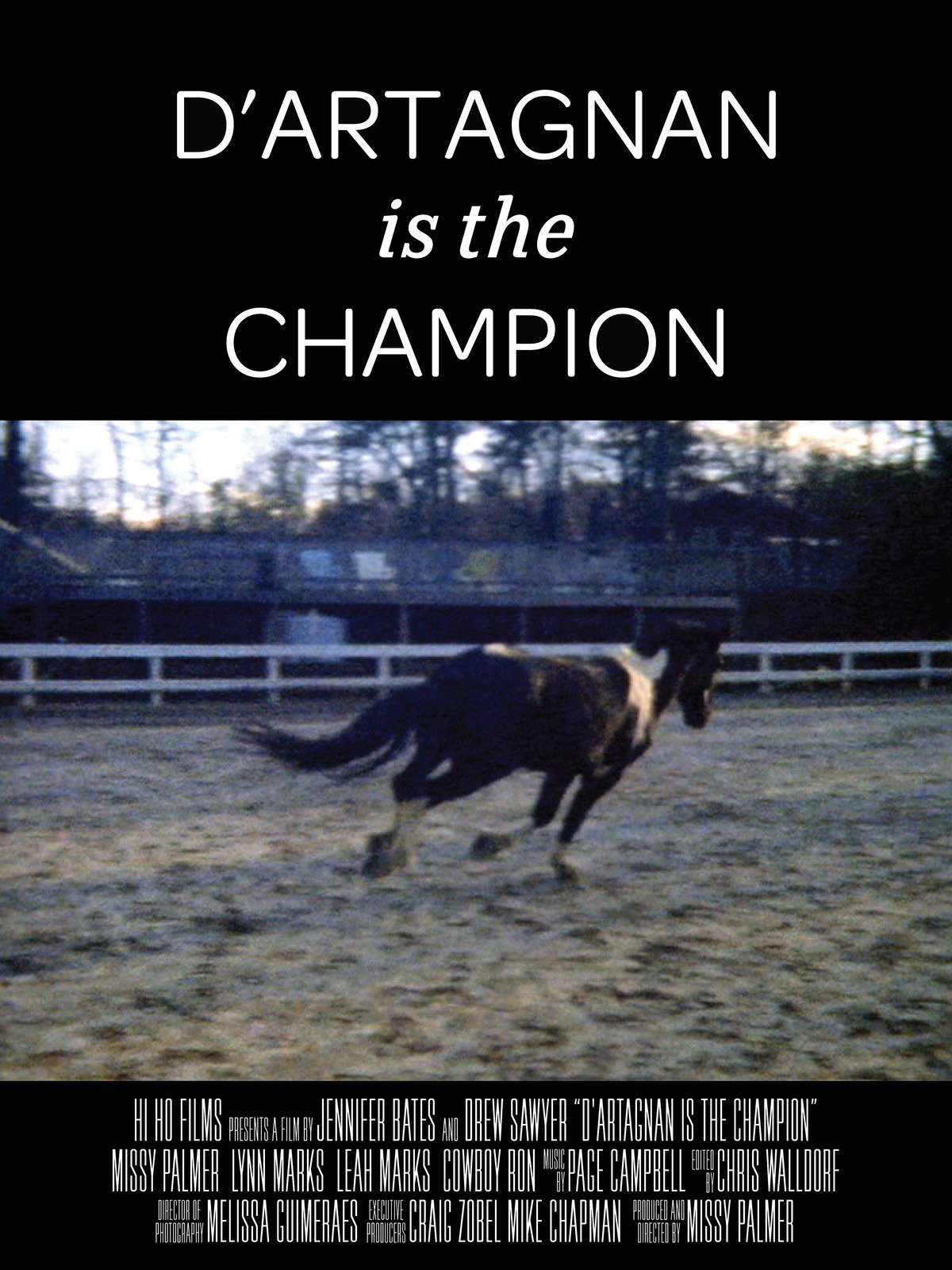 D'artagnan is the Champion