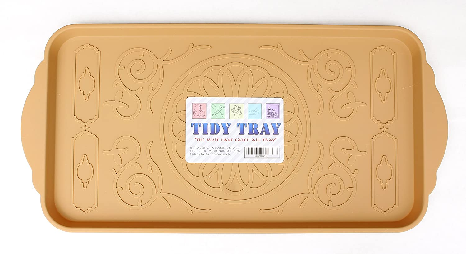 Multi-use Tray By Tidy Tray. Pet Tray, Boot Tray, Plant Tray, Shoe Tray, Car Tray, Dog Feeding Mat or Cat Litter Mat. Organizer Tray. Eco-friendly. Spacious 15 By 31 car mat dog mat card luxury pet safty belt car mats after the seat small dogs dog mat hot sale a6089