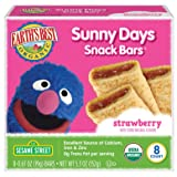 Earth's Best Organic Sunny Day Toddler Snack Bars with Cereal Crust, Made With Real Strawberries - 8 Count (Pack of 6) (Tamaño: Pack of 6)