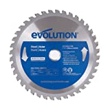 Evolution Power Tools 7-1/2BLADEST Steel Cutting Saw Blade, 7-1/2-Inch x 40-Tooth (Tamaño: 7-1/2 Inch)
