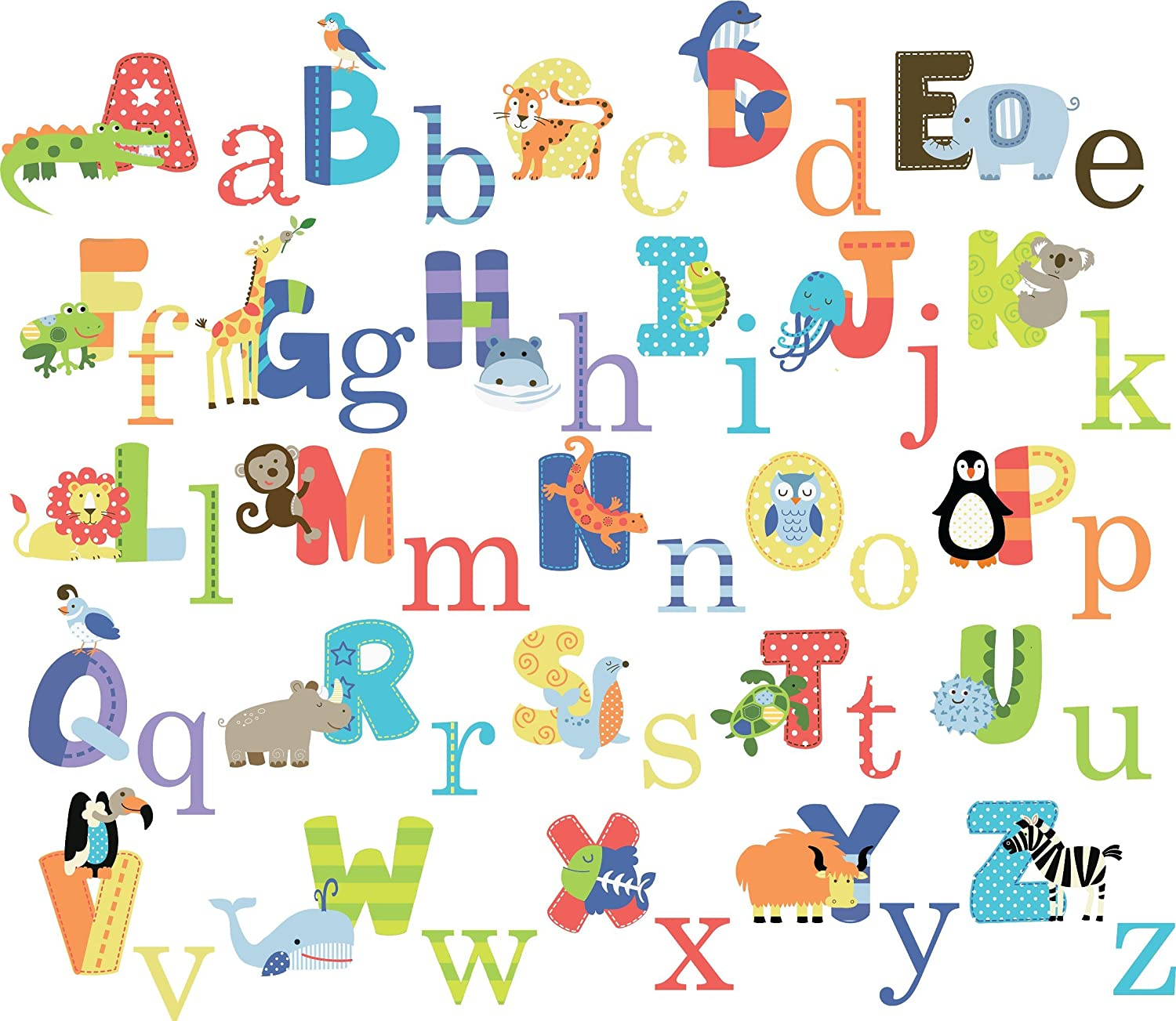 Animated Alphabet List Animal Alphabet Baby Nursery