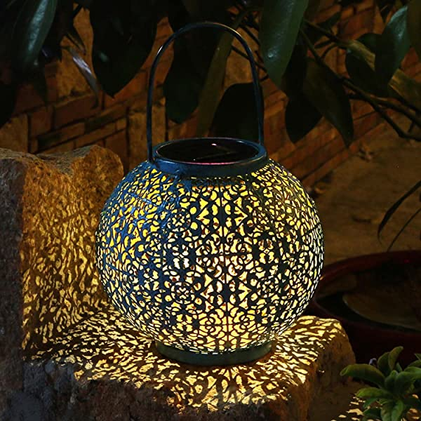 Takeme solar lantern outdoor garden lightsmetal waterproof led takeme solar lantern outdoor garden lightsmetal waterproof led hanging lights decorative lamp for patiooutside aloadofball Images