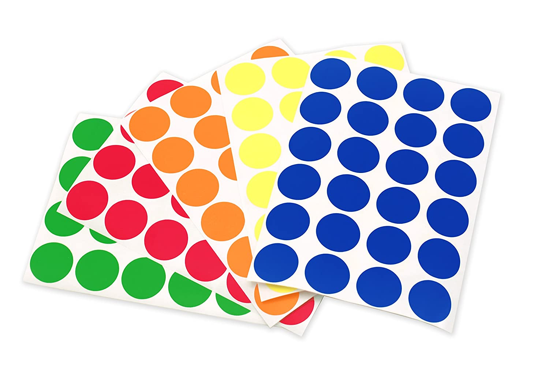 Color Coding Labels Color-coding Sticker Dots