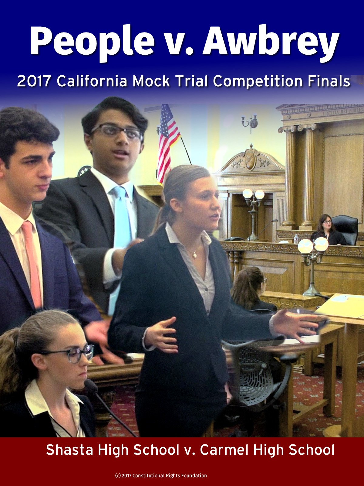 People v. Awbrey: 2017 California Mock Trial Competition Finals on Amazon Prime Video UK