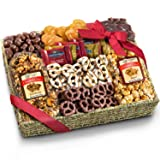 Chocolate, Caramel and Crunch Grand Gift Basket (Color: Basic)