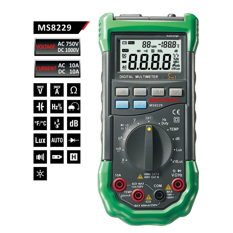 Digital Multimeter Ma : Multimeter test bestendrei