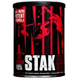 Universal Nutrition Animal Stak Natural Hormone Booster Supplement (Packaging May Vary) (Tamaño: 21 Packets)