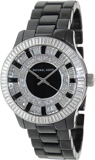 Michael Kors Baguette Crystal  Michael Kors Watches Black Ceramic