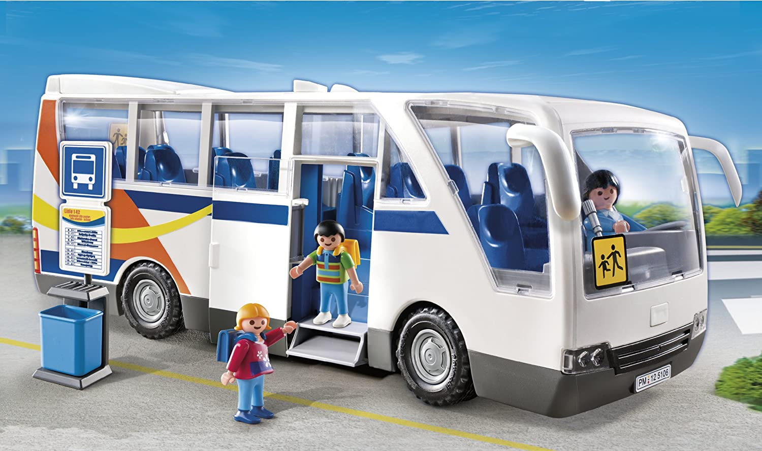 bus playmobil. Black Bedroom Furniture Sets. Home Design Ideas