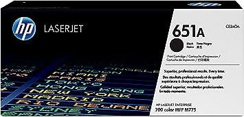 HP 651A Toner d'origine Noir