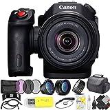 Canon XC15 4K Professional Camcorder Professional Kit (Color: Professional Kit, Tamaño: No Memory)