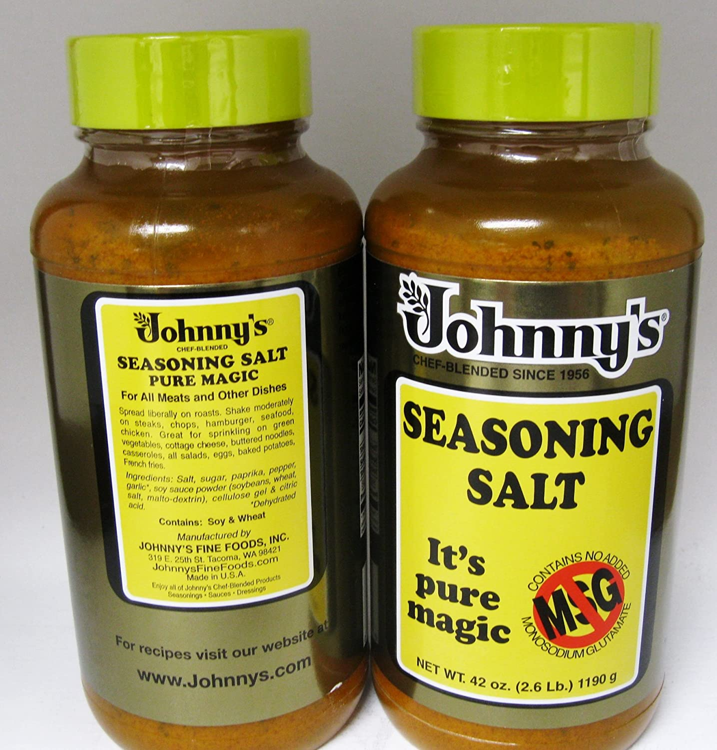 Seasoned Salt Brands Johnny 39 s Seasoning Salt no