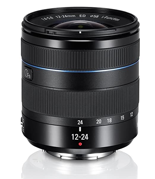 Samsung EX-W1224ANB Objectif pour Samsung NX 12-24mm f 4 noir pour Appareil photo gamme NX