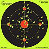 10 Pack - 12 inch Multi Bullseye - Splatterburst Shooting Targets - Gun - Rifle - Pistol - AirSoft - BB Gun - Pellet Gun - Air Rifle