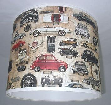 abat jour fait main 41cm 41cm bomoart old cars papier cuisine maison maison z297. Black Bedroom Furniture Sets. Home Design Ideas