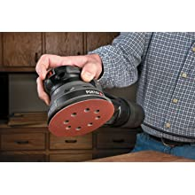 PORTER-CABLE 394 5-Inch Low-Profile Random-Orbit Sander with Dust Collection and Pressure-Sensitive Adhesive Pad