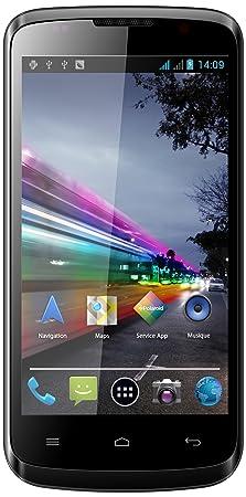Polaroid Ruby Smartphone débloqué dual-SIM 4.2 pouces 4 Go Android 4.2 Jelly Bean Noir