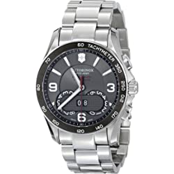 Victorinox Swiss Army Mens 241618 Chronograph Stainless Steel Watch