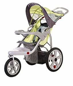 InStep Safari Swivel Jogger, Green/Gray