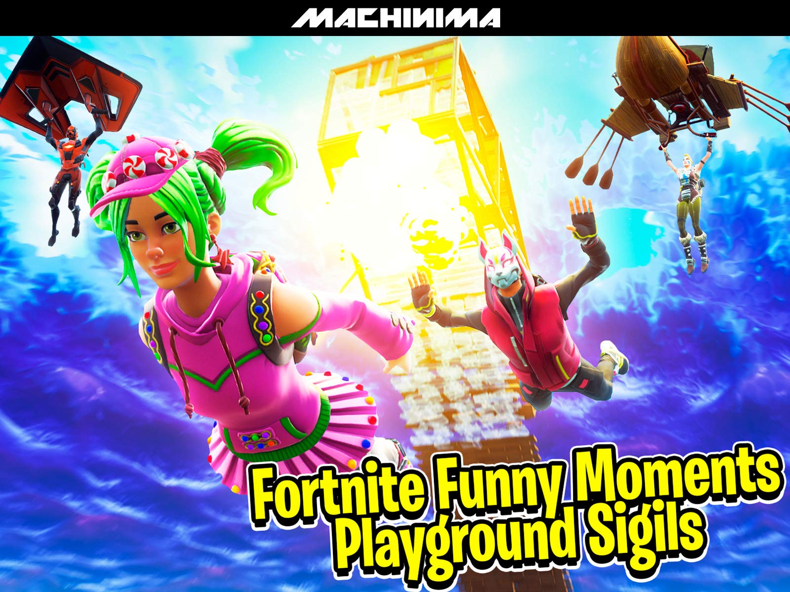 Clip: Fortnite Playground Funny Moments (Sigils) - Season 2