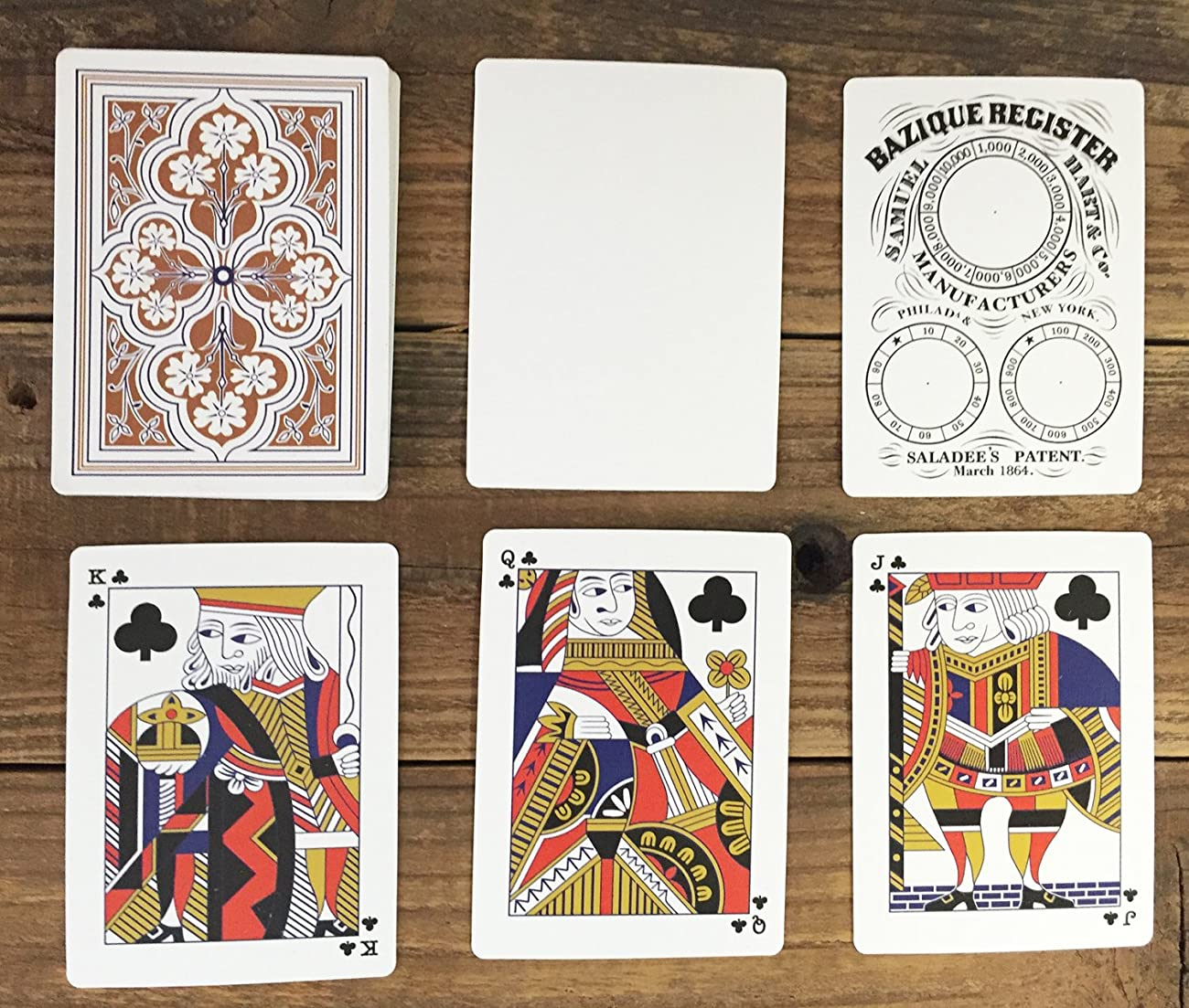 1864 Saladee's Patent Playing Cards Limited (limited to 1864) 2