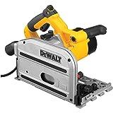 DEWALT DWS520K 6-1/2-Inch TrackSaw Kit (Color: Yellow)