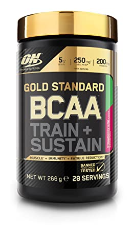 Optimum Nutrition Gold Standard BCAA Strawberry & Kiwi, 266 g