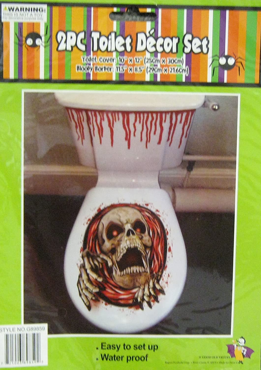 Blood Bath Toilet Set