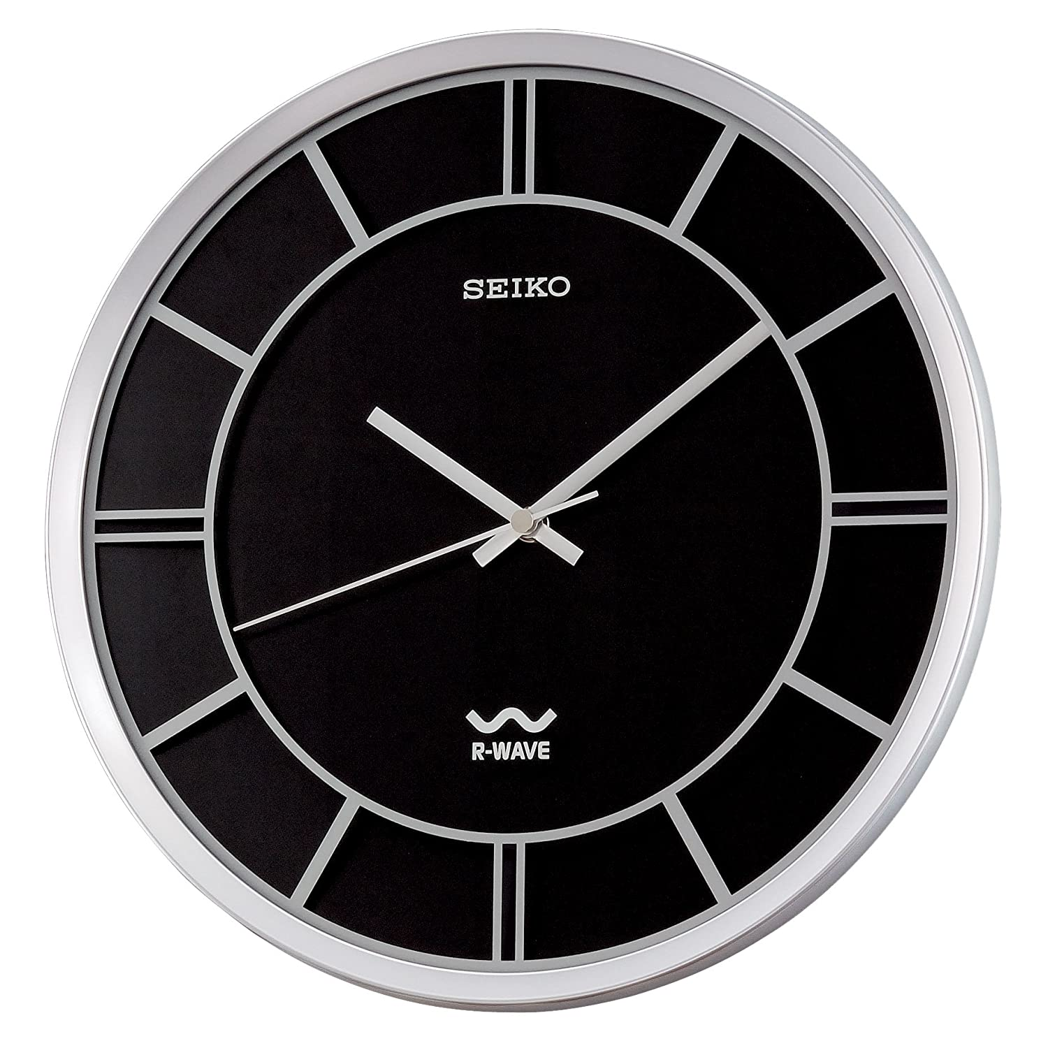 Seiko R-Wave wall clock will not reset to proper time.