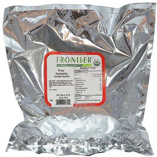Отзывы Frontier Pizza Seasoning Blend Organic -- 1 lb