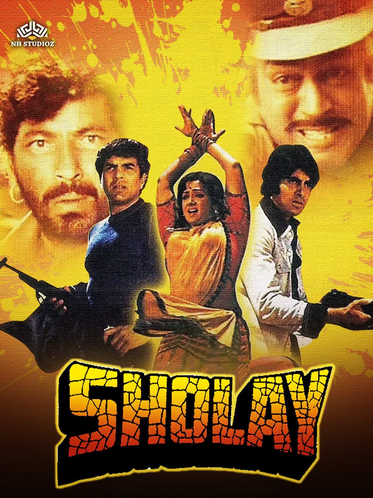 Sholay on Amazon Prime Video UK