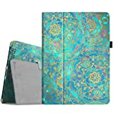Fintie iPad 2/3/4 Case - Slim Fit Folio Stand Case Smart Protective Cover Auto Sleep/Wake Feature for Apple iPad 2, iPad 3 & iPad 4th Generation with Retina Display - Shades of Blue