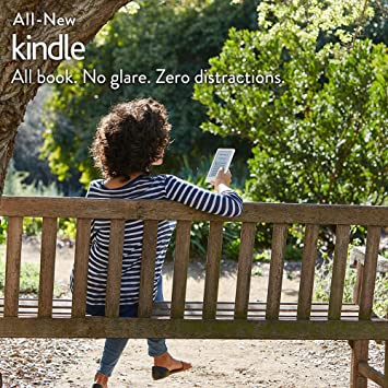 "All-New Kindle E-reader - White, 6"" Glare-Free Touchscreen Display, Wi-Fi"