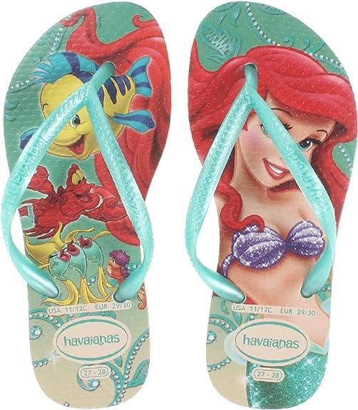 Havaianas Slim Princess Flip Flop (Toddler/Little Kid)