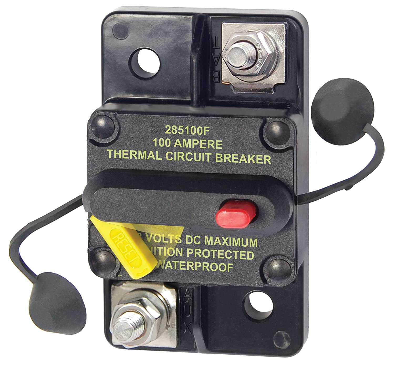 That Horrid Harbor Freight Winch Circuit Breaker - Jeep