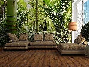 Fototapete Asiatischer Regenwald  Größe 360 x 270 cm, vierteilig   Kundenbewertung und Beschreibung