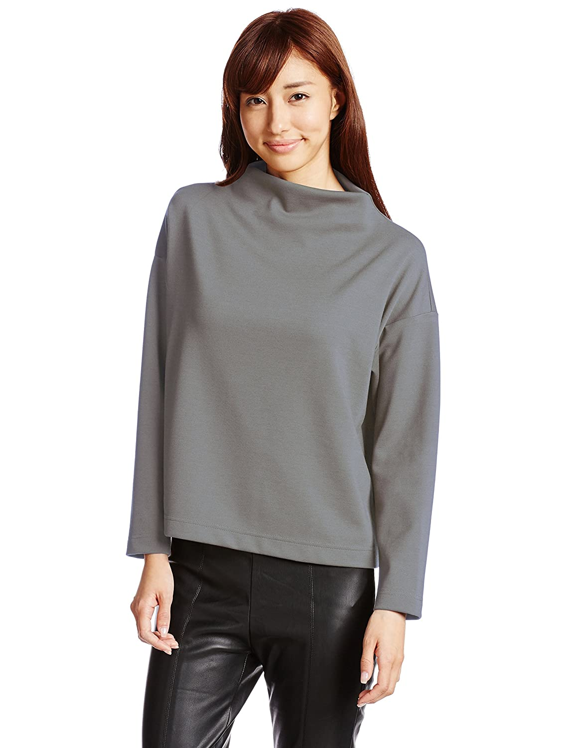(マウジー)MOUSSY OVER BOTTLE NECK TOPS 0108AA80-7180 BEG FREE : 服&ファッション小物通販 | Amazon.co.jp