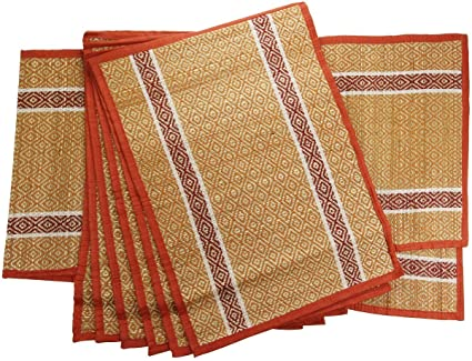 Table Runners And Placemats Sets Set of 6 Placemats 1 Table