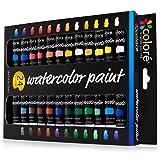 Colore Watercolor Painting Kit, 24 Colors (Tamaño: 24 Color Set)