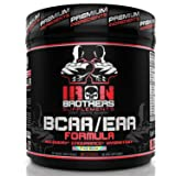 BCAA/EAA Powder Supplement - Best Intra Workout Formula - Essential Amino Acids for Hydration - Vegan Instaminos - All Natural Fermented - Carb 10 - Non-GMO - Gluten-Free - Ideal 2:1:1 Ratio