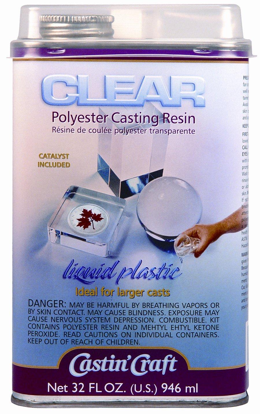 Castin craft color pigment - Crystal Clear Polyester Casting Resin Casting Craft Dyes Pigment Liquid Plastic