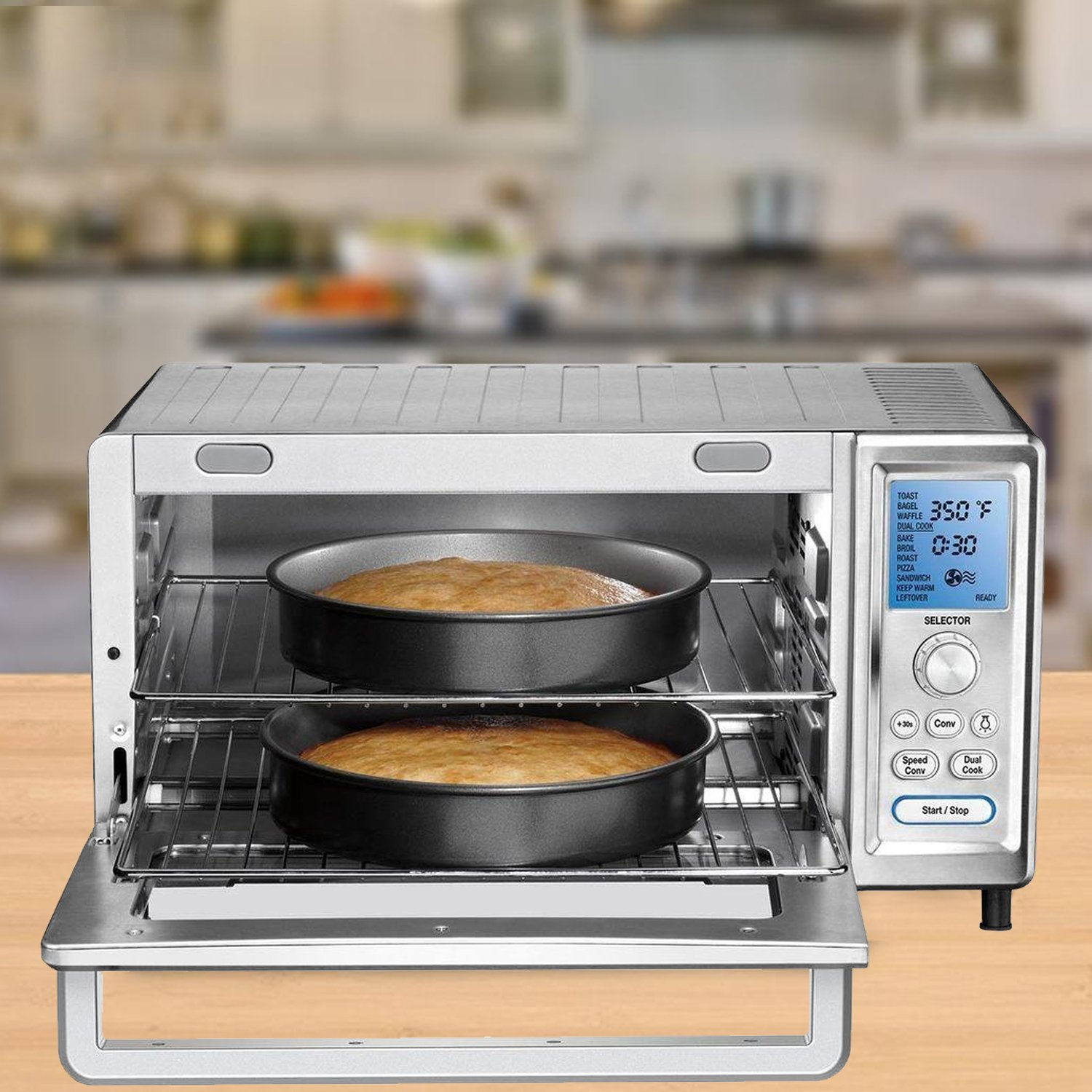Galleon - Cuisinart TOB-260N Chefs Toaster Convection Oven, Silver