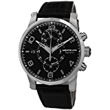 Montblanc Timewalker Chronograph Black Dial Mens Watch 105077 (Color: Black)