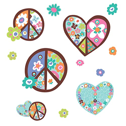 Heart Shaped Wall Stickers